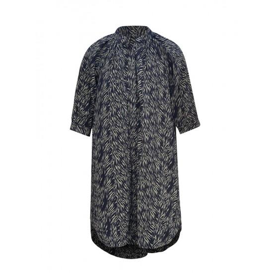 PRINTED HIGH LOW SUMMER DRESS